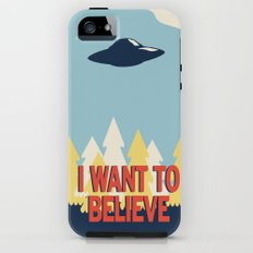 Jenni's Prints X-Files! I want to believe! iPhone (5, 5s) Tough Case