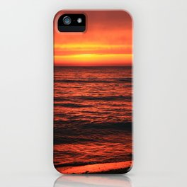 Warm reception on a cold morning. iPhone Case