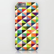 Mid-century triangle pattern Slim Case iPhone 6s