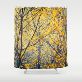 trees IX Shower Curtain