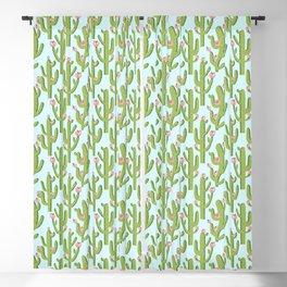Summer Cactus #illustration #cactus Blackout Curtain