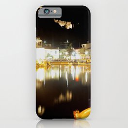 lemnos at night iPhone Case