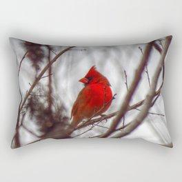 Redbird Rectangular Pillow