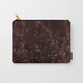 Stone coral - dark Carry-All Pouch