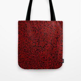 thought 2, red on black Tote Bag