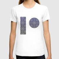 wallpaper T-shirts featuring Wallpaper by MinaSparklina