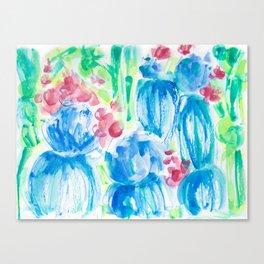 Nama-stay the Night Cactus Canvas Print