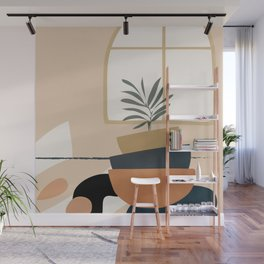 Plant in a Pot Wall Mural