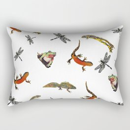 Let's go to the pond Rectangular Pillow