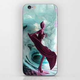 If you're not making waves, you're not underway iPhone Skin