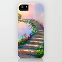 STAIRCASE--PARADISE iPhone Case