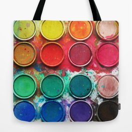 Paintbox Color Palette Tote Bag