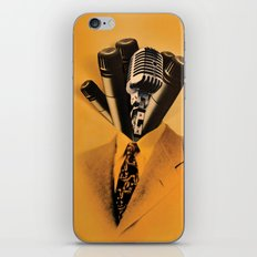 Mr. Microphone iPhone & iPod Skin