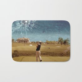 Broken Glass Sky Bath Mat
