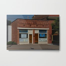 Wood Insurance Agency Metal Print