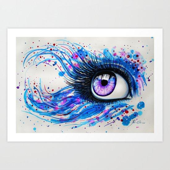 """""""In my eyes"""" Art Print"""