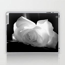 Black & White Rose Laptop & iPad Skin