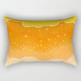 Candycorn Galaxy Rectangular Pillow
