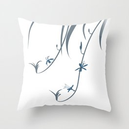 Spider Ivy Throw Pillow