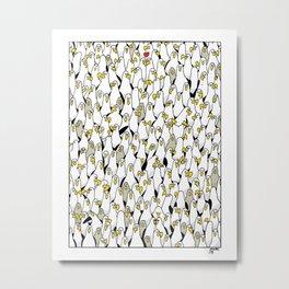 1000 Albatrosses Metal Print