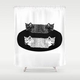 Lobas (Wolfs) Shower Curtain