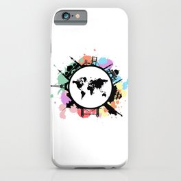 It's travel time iPhone Case