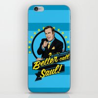 better call saul iPhone & iPod Skins featuring Better Call Saul by Akyanyme