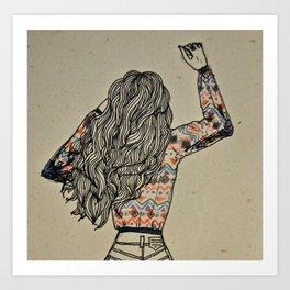 me3. Art Print