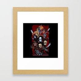 Horror Guice Framed Art Print