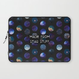 Made From Star Stuff in Black Laptop Sleeve