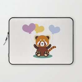 Lovely Red Panda Laptop Sleeve