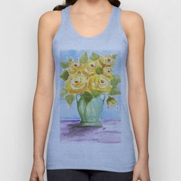 Yellow Rose of Texas Unisex Tank Top