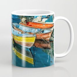 Mogan fishing boats Coffee Mug