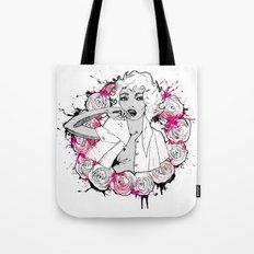 RING OF ROSES GRAFFITI Tote Bag