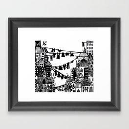 Organised Chaos Framed Art Print