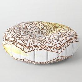 Ornamented octagon Floor Pillow