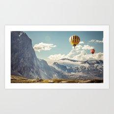 Hot air Balloons 4 Art Print