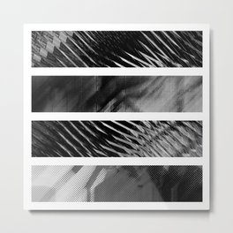 Quadtych Metal Print