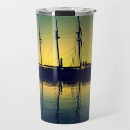 ~ Placid Dusk ~ Sail at Dawn ~ Travel Mug