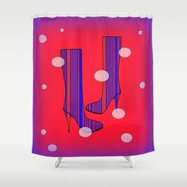 Art Meets Fashion Shower Curtain