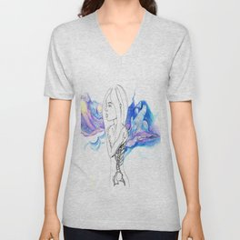 Reflections of Space Unisex V-Neck