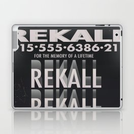 Rekall ( Total Recall ) Vintage magazine commercial. Laptop & iPad Skin