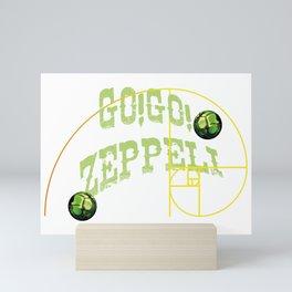 Go! Go! Zeppeli Mini Art Print