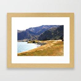Under the Hills Framed Art Print