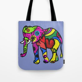 psychedelephant Tote Bag