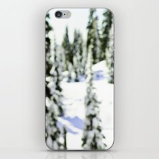 snow-covered iPhone & iPod Skin