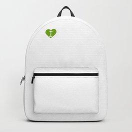 I Heart Baby's Breath | Love Baby's Breath - Gypsophila Backpack