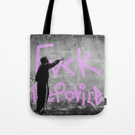 Fvck The Police Tote Bag