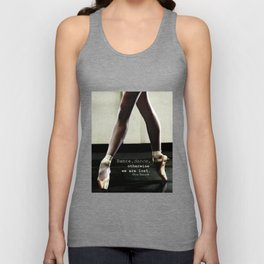 Pointe - Pina Bausch Quote Unisex Tank Top
