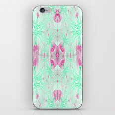What Can I Say..It's Pink and Green! iPhone & iPod Skin